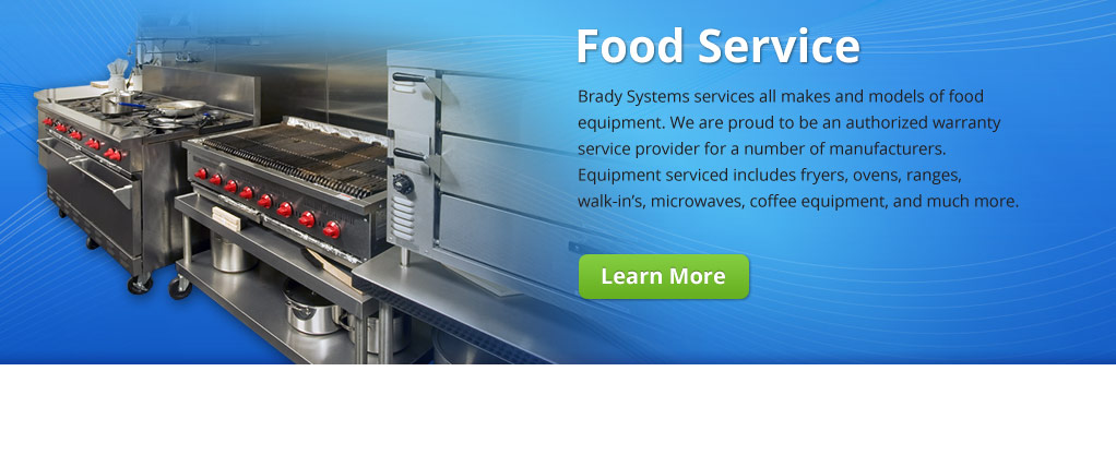Brady Systems Food Equiment Service